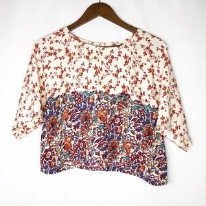 HOUSE OF HARLOW 1960 Floral Blouse in EUC - Small